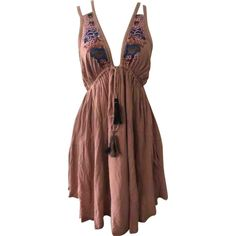 Mini dress Free People Pink size S International in Cotton - 7258663 Summer Dresses, Formal Dresses, Free People Dress, Luxury Consignment, Designer Dresses, Dress Outfits, Clothes For Women, Mini, Cotton