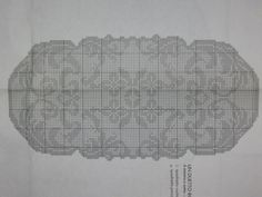 Crochet Tablecloth, Crochet Doilies, Filet Crochet, Cross Stitch Embroidery, Table Runners, Projects To Try, Crochet Patterns, Charts, Farmhouse Rugs
