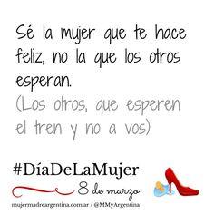 Eso. #DíaDeLaMujer