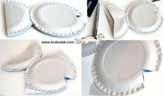 ИДЕИ от картонени чинийки | krokotak