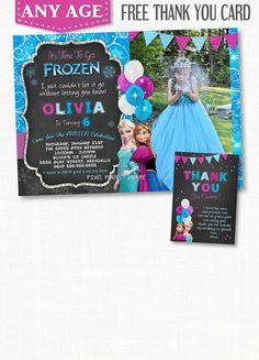 Hey, I found this really awesome Etsy listing at https://www.etsy.com/listing/197757594/frozen-birthday-invitation-frozen