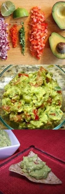 Delicious Food Recipes: GUACAMOLE RECIPE INGREDIENTS:3 avocados – peeled,...