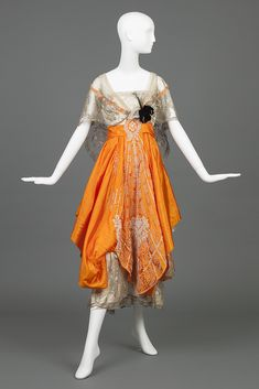 "omgthatdress: ""Dress 1916-1917 The Goldstein Museum of Design """