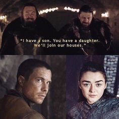 """Game of Thrones """"Can't wait for their reunion! ❤️"""" #Gendrya"""