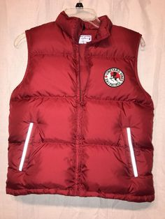 Vineyard Vines Ski Patrol Child Puffer Vest Red Size M (12-14) #vineyardvines #Vest