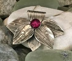 silver leaf pendant for bbsc #jewelry
