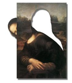 Sneaking Away Mona Le Sourire De Mona Lisa, Mona Friends, Body Builder, Arte Alien, Cool Pictures, Funny Pictures, Mona Lisa Parody, Mona Lisa Smile, Italian Artist