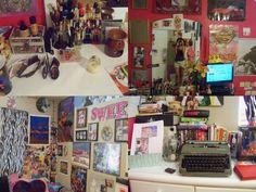 Teenage Bedroom Collage —afunkyspacereincarnation  - popculturez.com