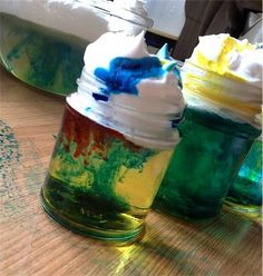 DIY rain clouds - one of the best science activities for kids! - Toby and Roo