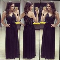 Popular elements: mosaic, perspective, backless, hollow Fabric Name: knitting Color: Black Sizes: S,