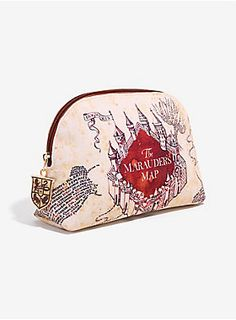 057f3d640da Manage your mischief and your makeup! | Harry Potter Marauder's Map Makeup  Bag Harry Potter