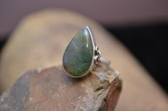 Hey, I found this really awesome Etsy listing at https://www.etsy.com/listing/193264231/large-sterling-silver-and-moss-agate
