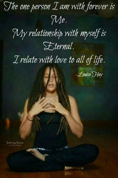 The Relationship with self is Eternal