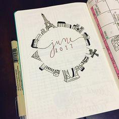 June illustration, card inspiration