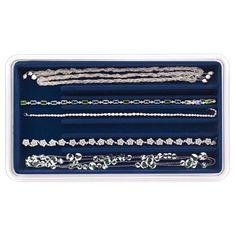 Amazon.com - Neatnix Jewelry Stax Necklace Organizer Tray, Midnight Blue - Jewelry Storage Trays I WOULD NEED 4