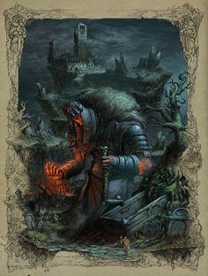 ArtStation - The King Awakes, Timofey Stepanov