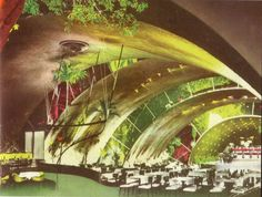 The Crystal Arch, Tropicana Night Club Havana 1950
