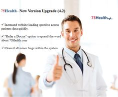 75health upgrades to a new version 4.2