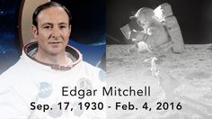 RIP Apollo 14 astronaut Edgar Mitchell, the 6th person to walk on the surface of the Moon. Always really sad to loose great explorers of space, much less one of the twelve who have travelled to the moon. These are the greatest among us human beings, and they have nothing but the highest levels of my respect and admiration.