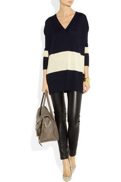 The Row | Amherst fine-knit cashmere-blend sweater....but just love this whole get up