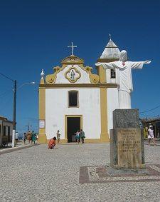 Igreja, centro histórico -  Arraial d Ajuda