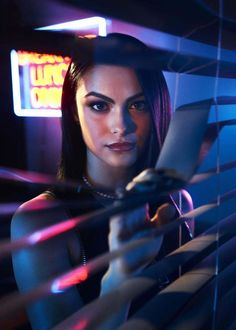 Camila Mendes made all of our hearts stop the minute we saw her on the small screen as Veronica Lodge in Riverdale — she truly is perfect for the role. Riverdale Merch, Riverdale Cast, Riverdale Poster, Luke Perry, Betty Cooper, The Cw, Pretty Little Liars, Veronica Lodge Aesthetic, Veronica Lodge Riverdale