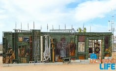 Noah Purifoy Assemblage Sculpture