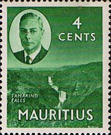 Mauritius 1950 SG 279 Tamarind Falls Fine Mint Scott 238 Other Mauritius Stamps HERE