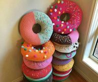 Donut Crochet pillows