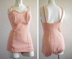 1950's Bombshell Jantzen Swimsuit  To Die For by carmenandginger, $82.00