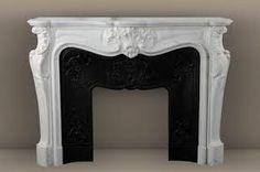 White marble in all its wonderous white glory! - The Enchanted Home Stove Fireplace, Fireplace Ideas, Rustic Fireplaces, Enchanted Home, Light My Fire, Hand Blown Glass, White Marble, Decoration, My House