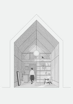 Conceptual Architecture, Architecture Concept Drawings, Architecture Sketchbook, Pavilion Architecture, Architecture Design, Architecture Illustrations, Architecture Diagrams, Organic Architecture, Interior Design Vector
