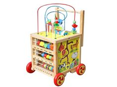 Timy Wooden Learning Bead Maze Cube 5 in 1 Activity Center Educational Toy Toys for sale online Toddler Learning, Learning Toys, Toddler Toys, Baby Toys, Kids Toys, Learning Clock, Baby Play, Kids Activity Center, Activity Cube