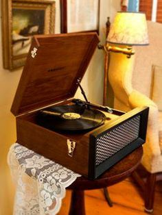 I've been wanting one for way too long!! Crosley Record Player