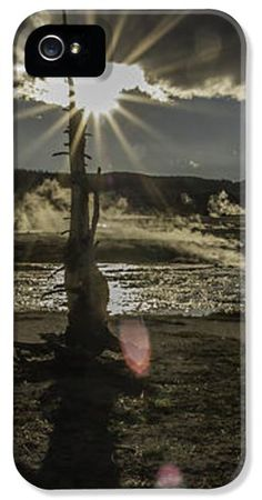 Firehole River iPhone Case by Curtis Knight