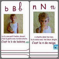 l'alphabet de la méthode Borel-Maisonny.