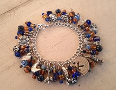 Luna's Ravenclaw Charm Bracelet by MistressJennie on Etsy, $55.00