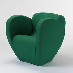 Size Ten Armchair, 1991 by Ron Arad (polyurethane foam over steel frame)