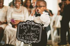 This awesome ring bearer. | 21 Amazing Wedding Ideas To Pin Right Now