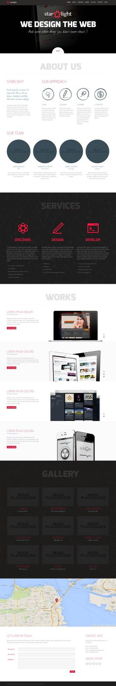 Starlight – Responsive WordPress Portfolio Theme.  #best_wordpress_themes_2013