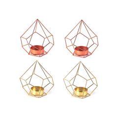 My design inspiration: Diamond Tealight Holder Mix Set on Fab.