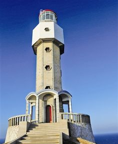 Niushan Dao lighthouse 1987 - Haitan Island, Fujian, China