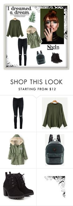 """""""Shein 1"""" by zerina913 ❤ liked on Polyvore featuring Boohoo, WithChic, Red Herring, Nika and shein"""