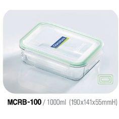 Glasslock Frischhaltebehälter rechteckig, 3er-Set: Amazon.de: Küche & Haushalt