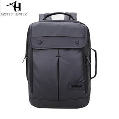 Black Laptop Computer Backpack Waterproof Man Daily Rucksack Travel Bag School Work Bags for 14 inch Laptop Mens Bagpack  #Affiliate