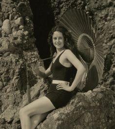 A lovely Mack Sennett Bathing Beauty