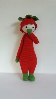 Lalylala Erdbeere Dinosaur Stuffed Animal, Animals, Amigurumi, Strawberry, Crochet Stuffed Animals, Animales, Animaux, Animal, Animais