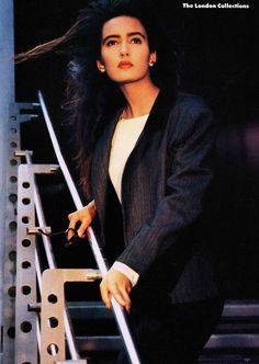Gail Elliott 1986 #supermodels #vintage #glamour #retro #nostalgia #1980s #1990s