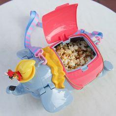 Disneyland Japan Tokyo DUMBO popcorn bucket w/ should strap