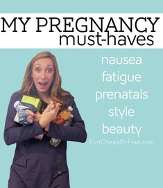 My pregnancy must-haves! From FunCheapOrFree.com. #FindYourHealthy